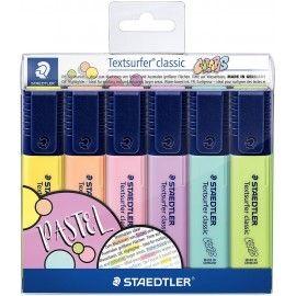 Zakreślacze STAEDTLER pastelowe 6 szt.