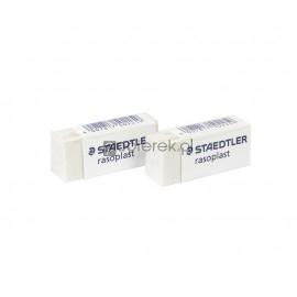Gumka ołówkowa Staedtler Rasoplast biała