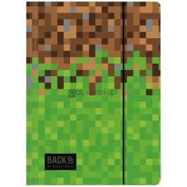 Teczka z gumką A4 BackUp Minecraft Piksele