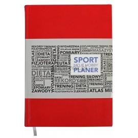 Planer organizer tematyczny A5 Sport moje hobby