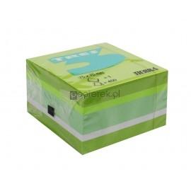 Karteczki samoprzylepne Tres zielone 75 x 75mm 450k