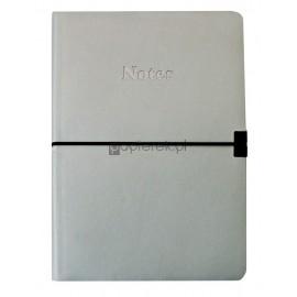Notes A5 perłowy w linię