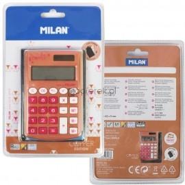 Kalkulator kieszonkowy MILAN copper różowy