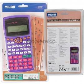Kalkulator naukowy Milan M240 Copper fioletowy