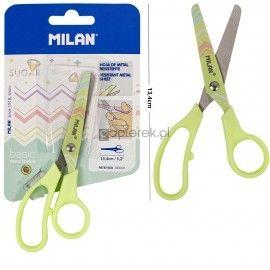 Nożyczki Milan Sugar Diamonds żółte 13.4 cm
