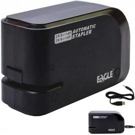 Zszywacz elektryczny USB Eagle czarny