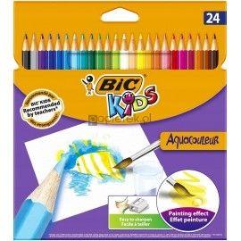 Kredki akwarelowe BIC Aquacouleur 24 kolory