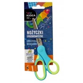 Nożyczki szkolne ergonomiczne Kidea