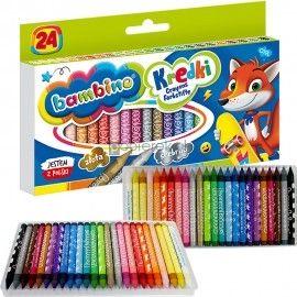 Kredki świecowe Bambino 24 kolory