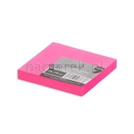 Notes samoprzylepny klejący kolor różowy NEON