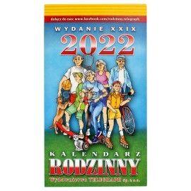 Kalendarz rodzinny Zdzierak 2022