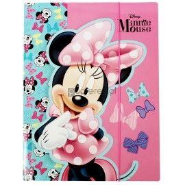 Teczka z gumką A4 Minnie Mouse
