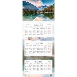 Kalendarz trójdzielny 2022 Widok Interdruk