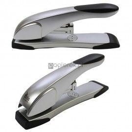 Zszywacz metalowy srebrny GV108-S do 60k Tetis