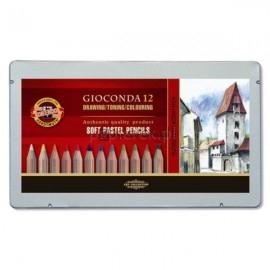 Pastel suche w ołówku Gioconda, 12 kolorów