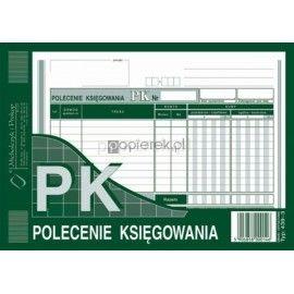 POLECENIE KSIĘGOWANIA OFFSET A5 M&P