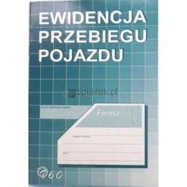 EWIDENCJA PRZE,POJAZDU /Nr7//K6/
