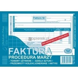 FAKTURA A5 MARŻA M&P