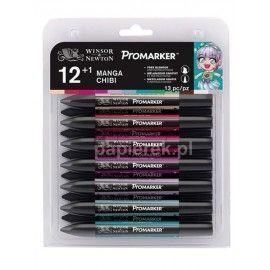 Promarker zestaw pisaków Chibi, 12 kolorów +1