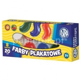 FARBY PLAKATOWE 8/20ML ASTRA