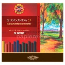Pastele olejne Gioconda, 24 kolory, Koh-I-Noor