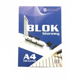 BLOK BIUROWY A4/100K MEGA-PAK