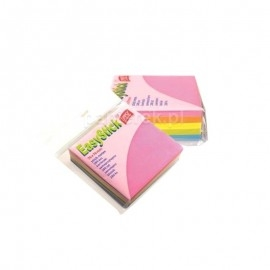 Karteczki samoprzylepne EasyStick 76x76 NEON