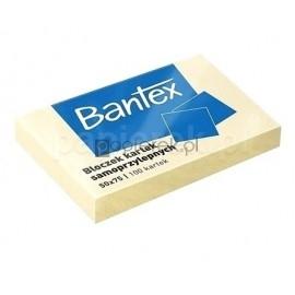 Bloczek kartek samoprzylepnych 50x75 BANTEX