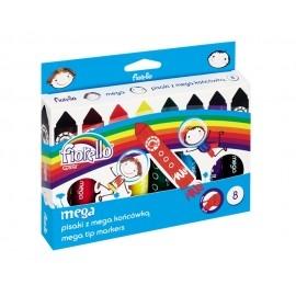 Pisaki MEGA Jumbo Fiorello 8 kolorów