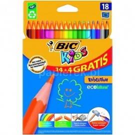 KREDKI BIC 18 KIDS EVOLUTION