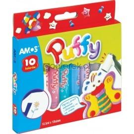 farby do tkanin amos puffy 10 kolorów