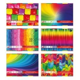 Blok rysunkowy kolorowy A4 INTERDRUK