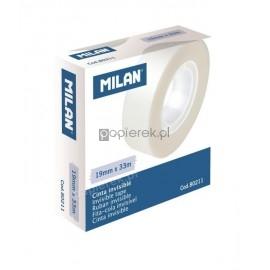 Taśma niewidoczna odklejalna Milan 19 mm 33 m