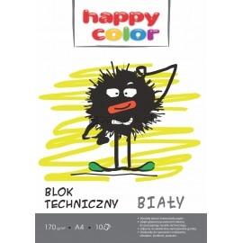 Blok techniczny A4 biały HAPPY COLOR