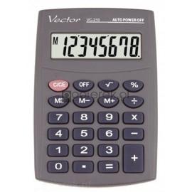 Kalkulator kieszonkowy VECTOR VC-210 z etui