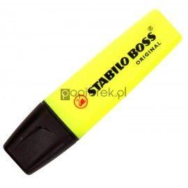 Zakreślacz Stabilo Boss żółty 70/24