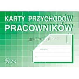 Karta przychodów pracowników Michalczyk & Prokop