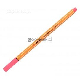 Cienkopis STABILO róż neon 88/040 neon