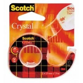 Taśma Scotch krystaliczna z podajnikiem