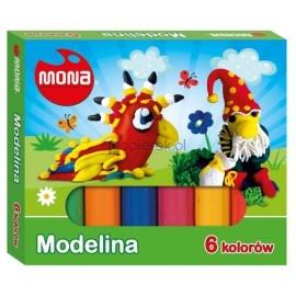 Modelina mona 6 kolorów