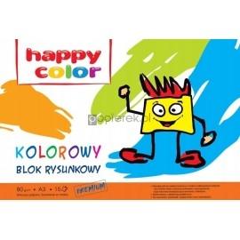 Blok rysunkowy A3 kolorowy HAPPY COLOR