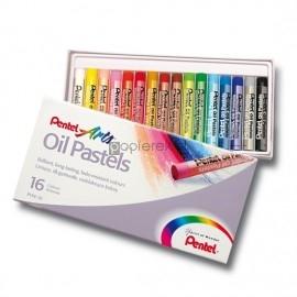 Pastele olejne PENTEL 16 kolorów