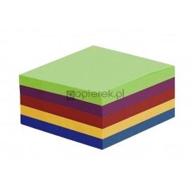 Kostka kolorowa 85x85x50 intensywna, nieklejona/klejona escuela