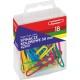 Spinacze biurowe R-50 GRAND kolorowe 50 mm 18 szt