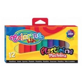 COLORINO plastelina 12 kolorów