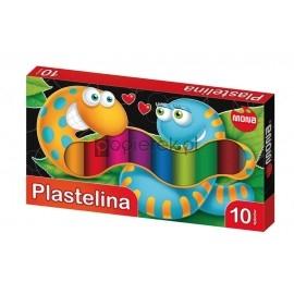 Plastelina szkolna MONA 10 kolorów