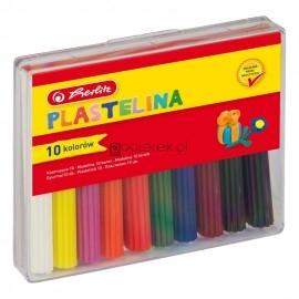 Plastelina HERLITZ 10 kolorów
