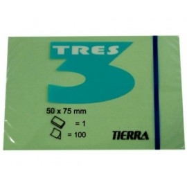 Notes samoprzylepny kolorowy 50 x 75mm TRES