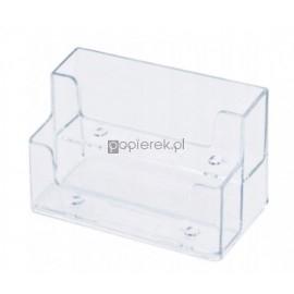 Wizytownik plastikowy podwójny