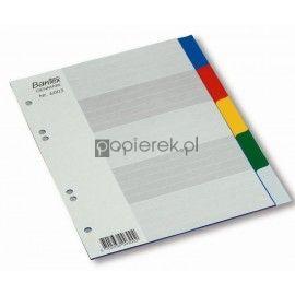 Przekładki PP BANTEX A5 5 Kolorów